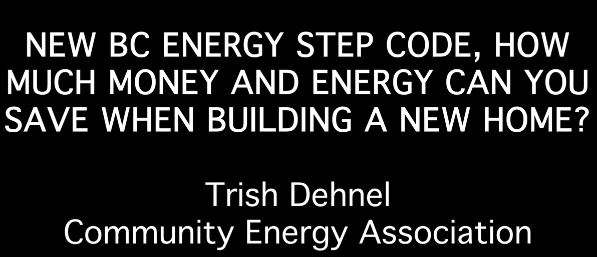 Trish Dehnel Energy Step Code