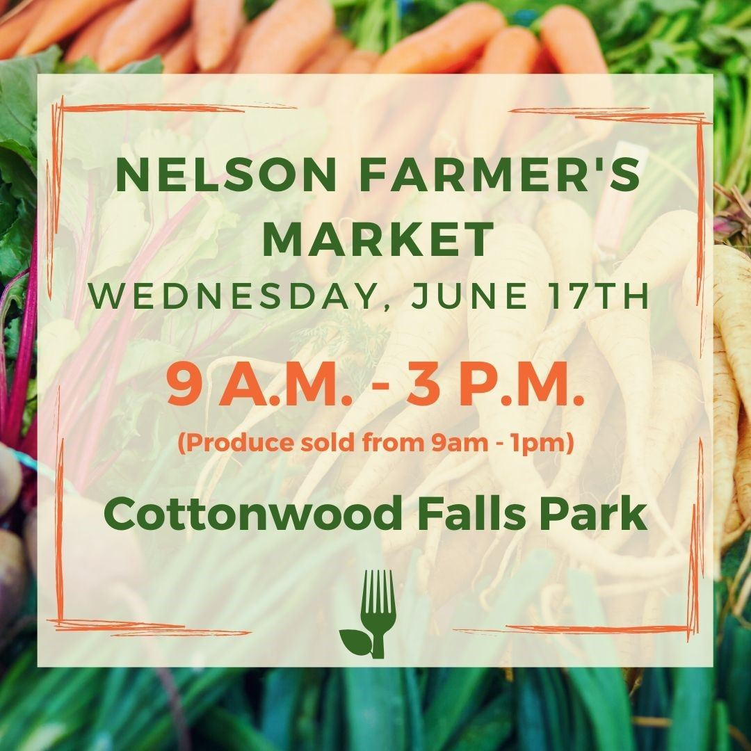 Instagram June 17 Nelson farmer market
