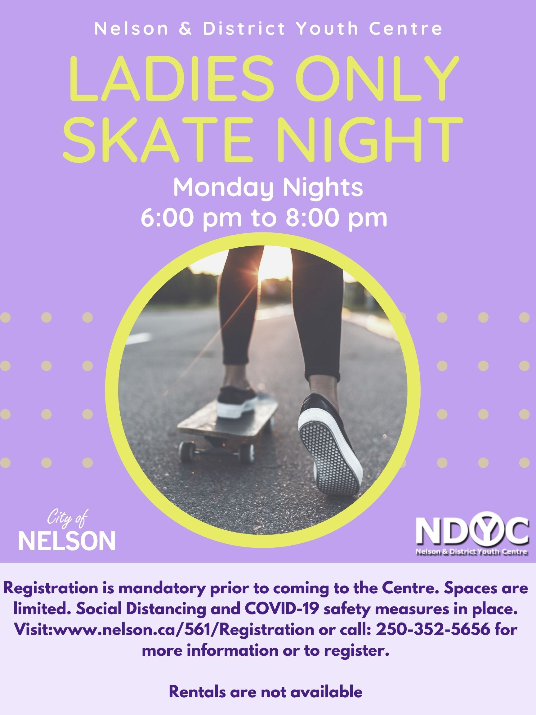 Ladies Only Skate Night