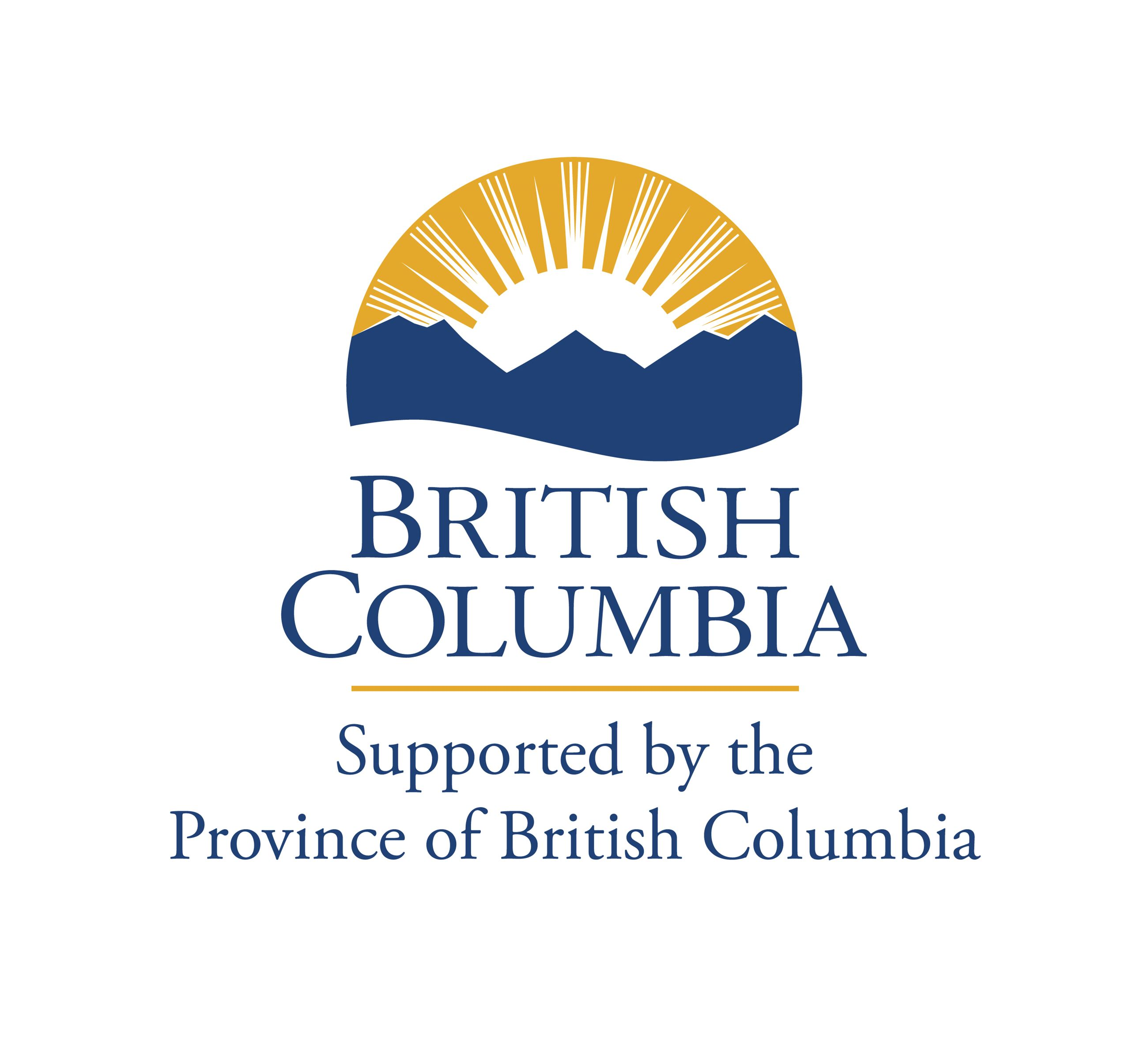 British Columbia Supported by the Province of British Columbia